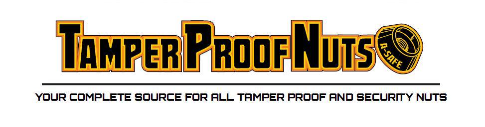 Tamperproof Nuts